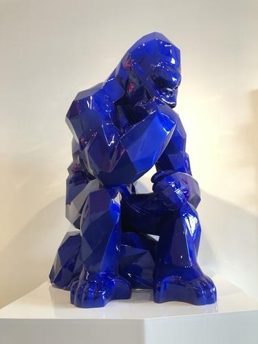 Kong Penseur - Bleu Mick (40 cm)