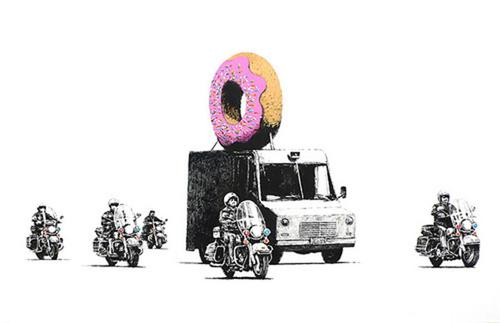Strawberry Donuts, 2009 (signed)