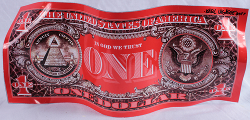 One Dollar - Red