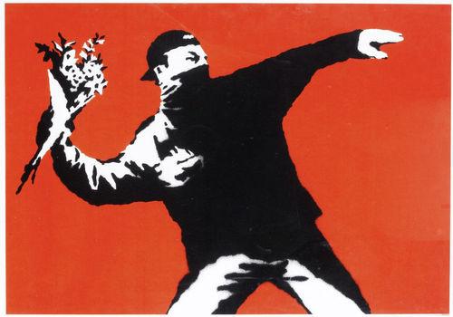 Flower Thrower, 2003 (unsigned)