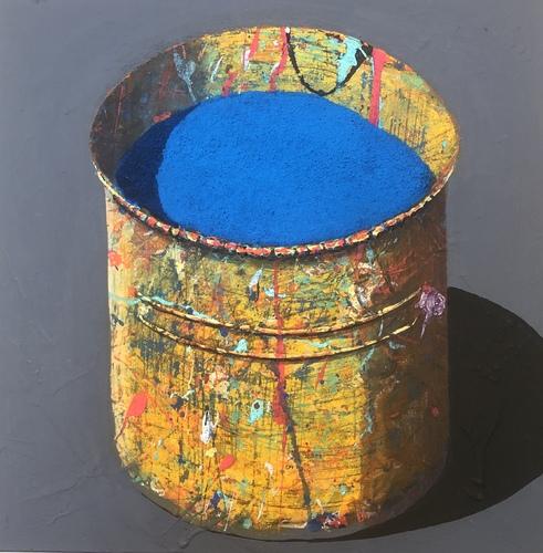 Pot - bleu