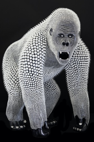 Gorille Noir, 2020 (2,5 m)