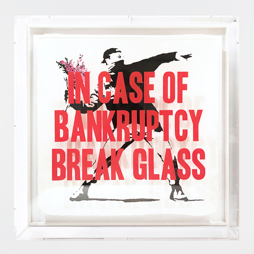 In Case of Bankruptcy - Flowers Thrower Pink (80 cm)