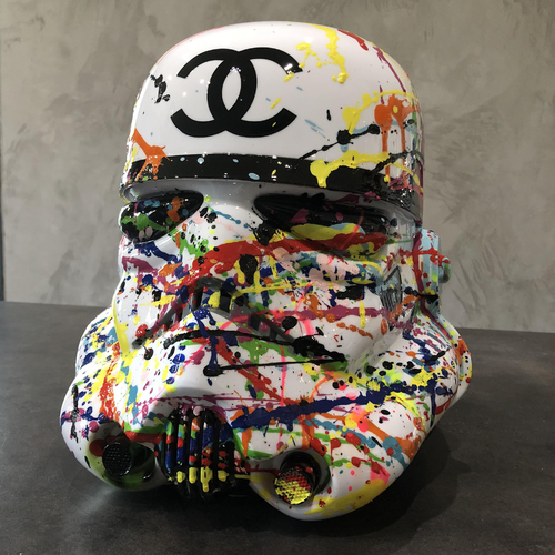 Casque Stormtrooper Chanel special addiction, 2018