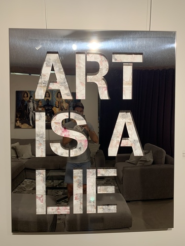 Art is a Lie - Inox