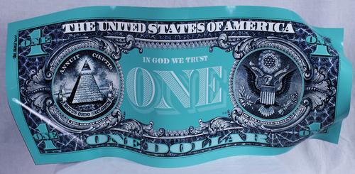 One Dollar - Turquoise