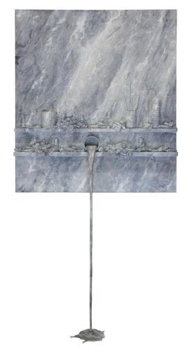 Flow 76 - Marbre gris