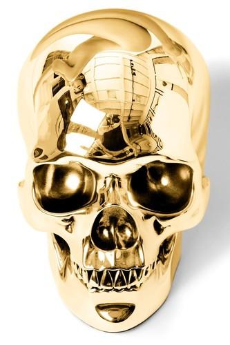 Golden skull 1