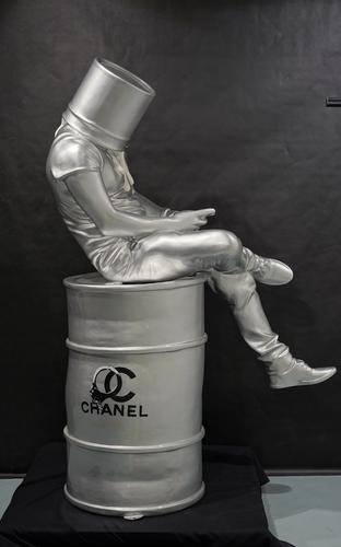 Blind - Argent Chanel menottes