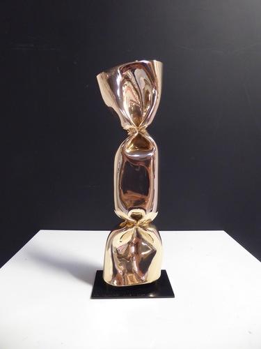 Wrapping Bonbon Bronze doré