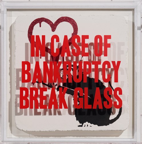 In case of bankruptcy - Love Rat Red Glitter, 2020