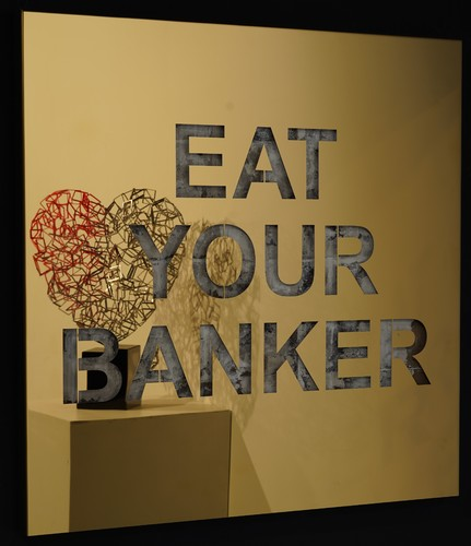 Eat your Banker - Inox Gold