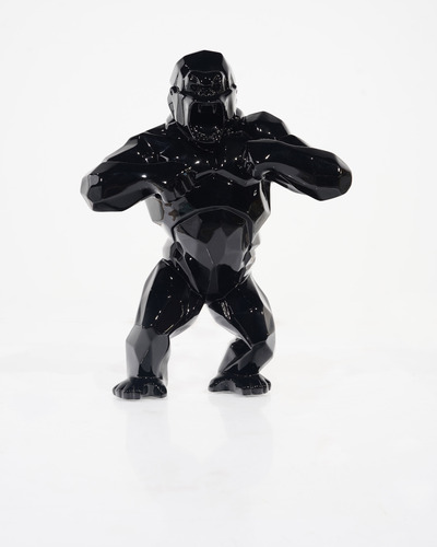 Wild kong - Noir brillant (37 cm)