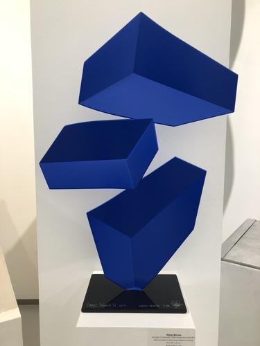 Energia Contenida F239 - Iridescent blue, 2017