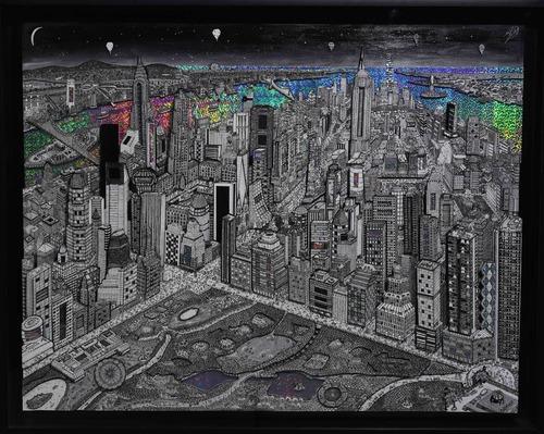 New York - Noir et blanc