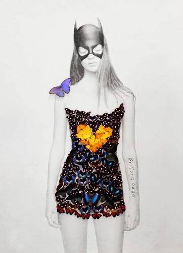 Kate Moss Butterfly (Superhero)