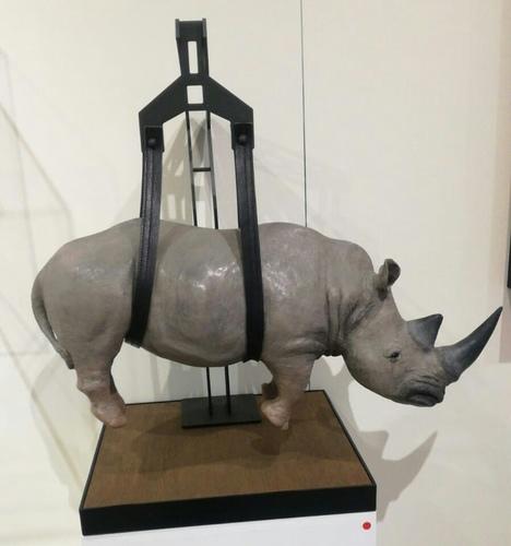 Il peso del tempo sospeso rhino grand