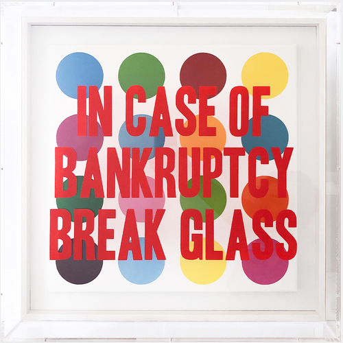 IN CASE OF BANKRUPTCY-Hirst Dots
